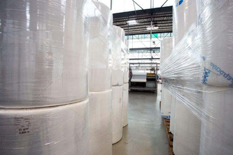 Fábrica de manta filtrante