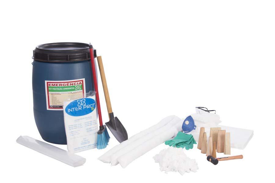Kit mitigação produtos químicos