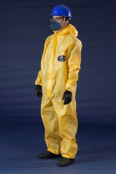 Macacão de proteção química
